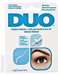 DUO Strip Lash Adhesive White/Clear, for strip false eyelash, 0.25 oz