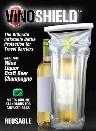Vino Shield hinchable vino pantalla Carrier: Amazon.es: Jardín