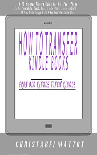 Amazon How To Transfer Books From Old Kindle To New Kindle A