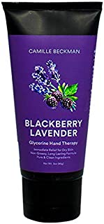 product image for Camille Beckman Glycerine Hand Therapy Cream, Blackberry Lavender, 3 Ounce