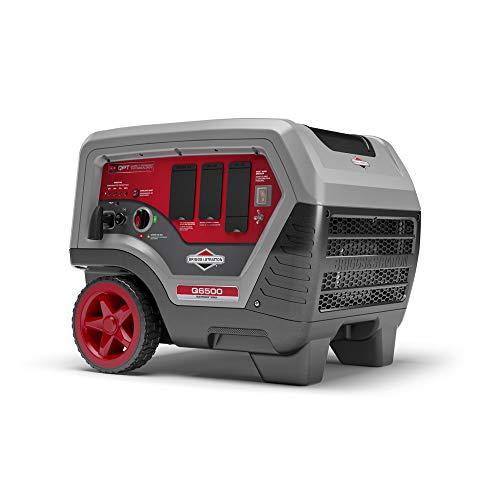 Briggs & Stratton 30675 Q6500 Inverter Generator - 6500 Starting Watts QuietPower Series Portable Generator for Home Backup