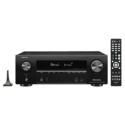 Denon AV Receivers Audio & Video Component Receiver BLACK (AVRX1500)