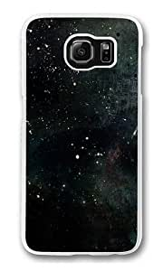 Abstract Space Polycarbonate Hard Case Cover for Samsung S6/Samsung Galaxy S6 Transparent by runtopwell