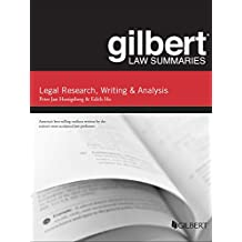 Gilbert Law Summary on Legal Research, Writing, and Analysis, 12th (Gilbert Law Summaries)