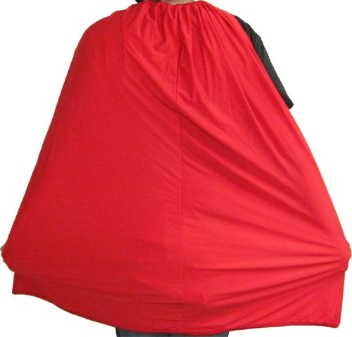 Adult Red Spandex Superhero Hero Accessory Costume