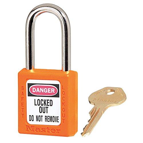 """Lockout Padlock, KD, Orange, 1-3/4""""H"""