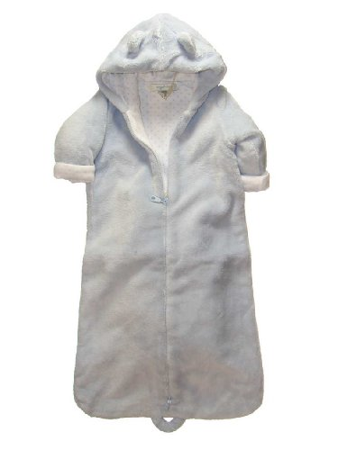 Angel Dear Fuzzy Hooded Bunting - Blue(0-6 Mths)