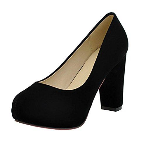 Lieve Tijd Vrouwen Hoge Hakken Pumps Schoenen Zwart