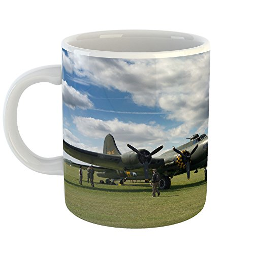 Westlake Art - Boeing Flying - 11oz Coffee Cup Mug - Modern Picture Photography Artwork Home Office Birthday Gift - 11 Ounce ()