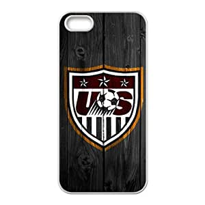 ZXCV us soccer logo Phone Case for Iphone 5s