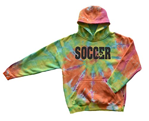 New Soccer Girls Tie Dye Pastel Sweatshirt (YL)