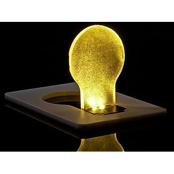 5 x LED Pocket Credit Card Wallet Light Bulb