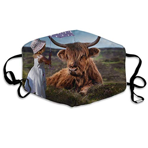 shengshilande Dust Mask Girl Cattle Outdoor Mouth Mask Anti Dust Mouth Mask for Man -
