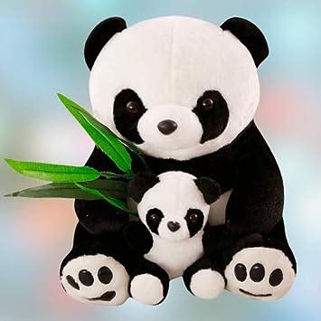 Anxiety Stuffed Animal, Buy Alisha Toys Cute Beautiful Soft Panda With Baby Teddy Bear Soft Toy For Girls Kids Gifting Valentine Anniversary Birthday White Black 55 Cm