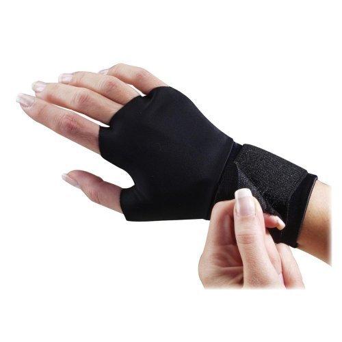 Dome Handeze Flex-fit Therapeutic Gloves - Small Size - Wrist Strap - Fabric - 2 / Pair - -