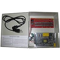 12VDC CCTV Camera Power Supply 18 ports 10 AMP PTC Fuse