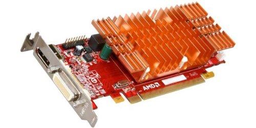 Visiontek Radeon 5450 Sff 512mb Ddr3 3m (2x Dvi-i, Dp) Con 2x Tarjeta Grafica De Adaptador Dvi-i A Vga - 900327