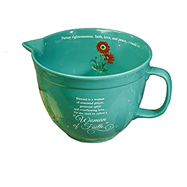 Woman of Faith Mixing Bowl