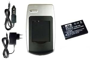 Batería + Cargador Klic-5000 para Kodak EasyShare LS753, ONE, P712, P850