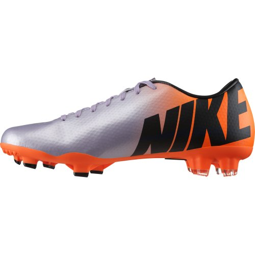 Nike Fußballschuh MERCURIAL VICTORY IV FG, metalic purple/orange