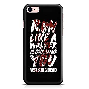 Loud Universe iPhone 7 Case The Walking Dead Case Walker Chasing Tv Show Slim Profile Light weight Wrap Around iPhone 7 Cover