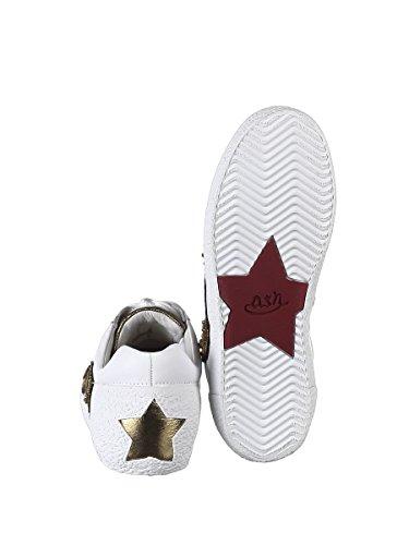 Ash Dames Nakarms07 Witte Lederen Sneakers