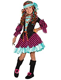Rubies Costume Co (Canada) Salty Taffy Girl's Pirate Costume, Small