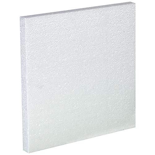 Plastic Jug Foam Insert, 4-1 Gallon, White, 48/Case