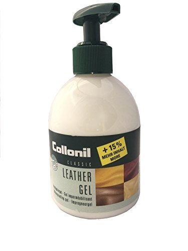 Collonil Leather & Suede Gel Repels Dirt, Waterproofs, & Revives Shoes, Handbags, Clothes & Furniture. Made in Germany.