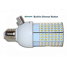12V up to 24V DC LED Light 4500K, 201 LED's, for Off the Grid Solar Systems, RV's, Boats, Campers, Batteries and all 12-24 VDC Applications, Exclusive Built-in Dimmer - E26 / E27 Base