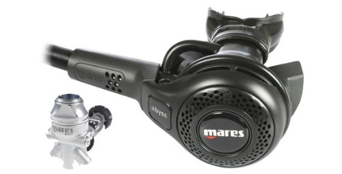 Mares Abyss 22 Navy II Regulator (Black)