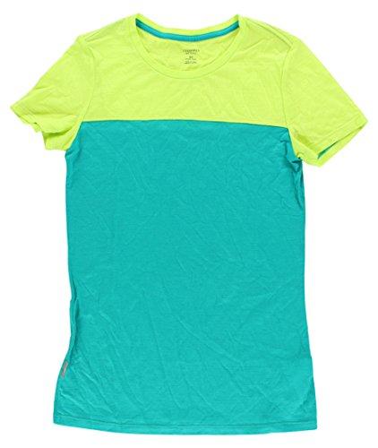 Icebreaker Womens Tech Lite Short Sleeve Crew Shirt Teal L