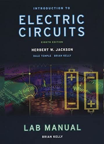 introduction to electrical circuits herbert jackson, dale templeintroduction to electrical circuits 8th edition by herbert jackson