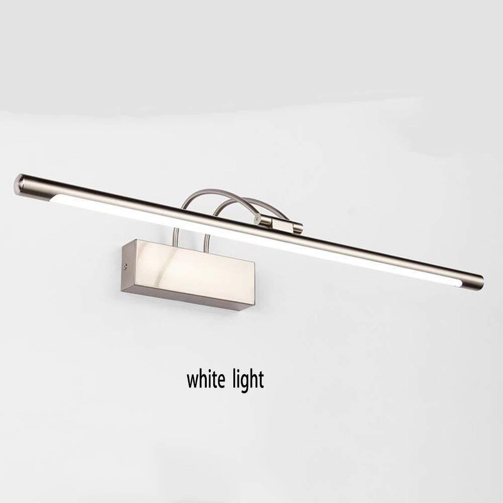 Fenciayao 家の浴室ミラーのヘッドライトは導かれた球根のための浴室ライトの電気めっきされた統合された機能を含みました (サイズ : 9w-45cm) 9w-45cm  B07QMDM8PF