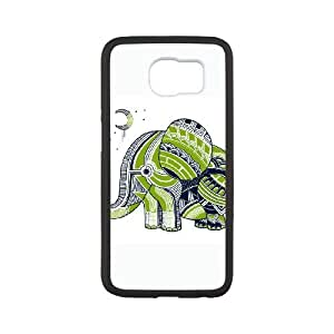 Samsung Galaxy S6 Cell Phone Case White Elephant 3 OZU Customized Personalized Case