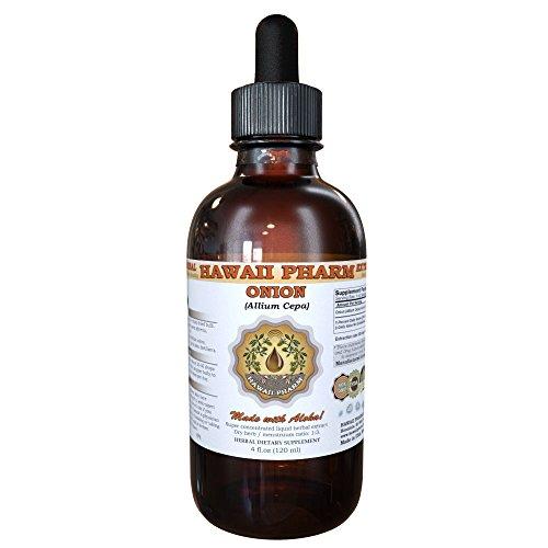 Onion Liquid Extract, Onion (Allium Cepa) Bulb Powder Tincture Supplement 2 oz