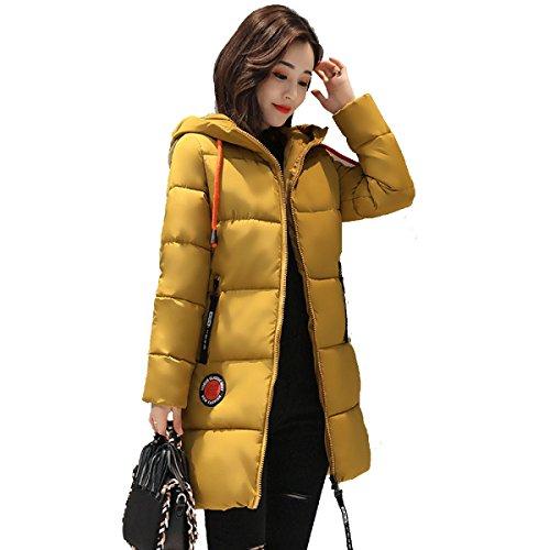 Inverno Della Lungo Piumino Cappotto Outwear Sveglio Studente Piumino G Cotone Corea Tratto Nihiug wvF6xAq1S