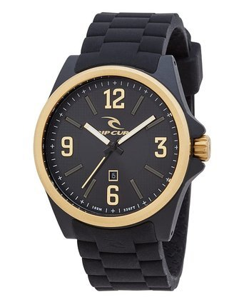 Rip Curl Covert Men's Analog Date Watch Black and Gold A2901-gol by Rip Curl