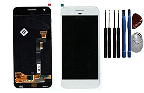 Google pixel touch screen lcd display inclusa pellicola adesiva
