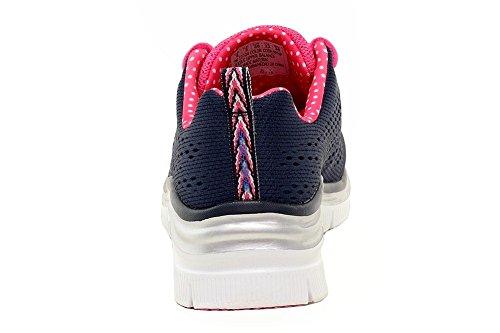 Baskets Basses Skechers Pink Navy Fit Femme Fashion Noir Statement Piece qTqI6aw