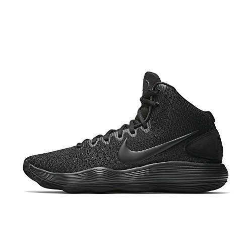 Nike Men's Hyperdunk 2017 Basketball Shoes, Black (Black/Black), 8.5 UK