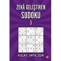 Zeka Geliştiren Sudoku - 3: Kolay, Orta, Zor