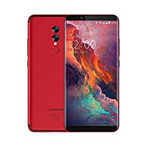 6.0Inch For UMIDIGI S2 Pro 6+128GB Unlocked Smart Phone 4G Android 7.0 Mobilephone (Red)