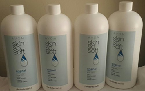 Avon Skin so Soft Original Body Lotion +Jojoba Lot of 4
