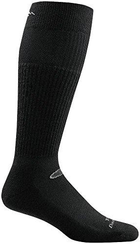 Darn Tough Tactical Mid Calf Light Cushion Sock - Black - Mid Calf Socks Light