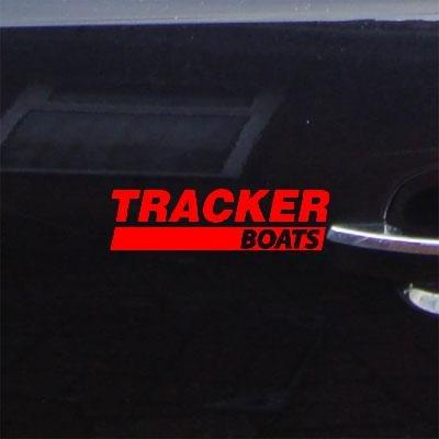 (VINYL ADHESIVE VINYL WALL WINDOW TRACKER BOATS RED DECAL STICKER WALL ART HELMET ART HOME DECOR CAR BOAT CRUISER CAR)