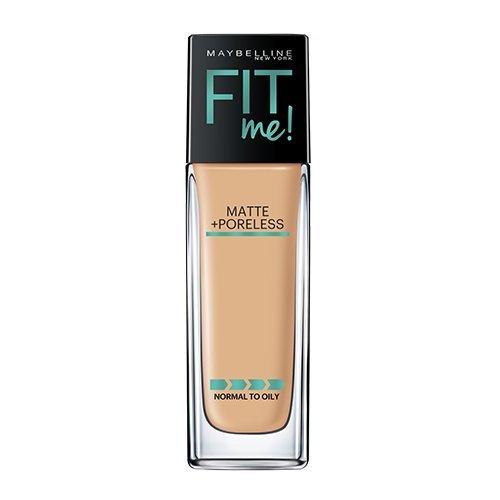 Maybelline Makeup Fit Me Matte + Poreless Liquid Foundation Makeup, Soft Tan Shade, 1 fl oz