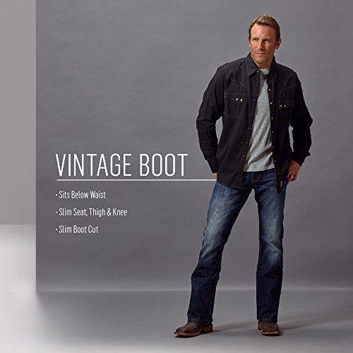 7092cc7f SHOPUS | Wrangler Men's 20X Vintage Boot Cut Jean, Blackwell ...
