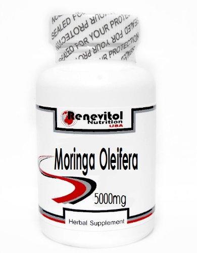Moringa Oleifera 5000mg 180 Capsules ~ Renevitol