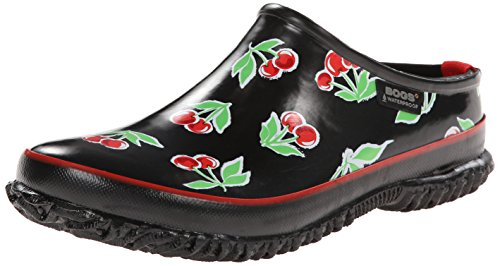 Bogs Women's Urban Farmer Waterproof Slide Cherry d7DAUA5BK